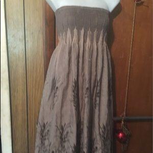 Lapis maxi dress size medium